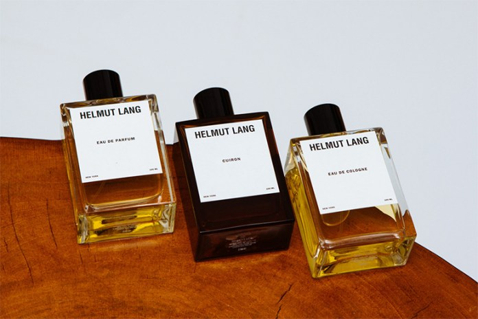 Helmut Lang to Re-launch their Signature Fragrances