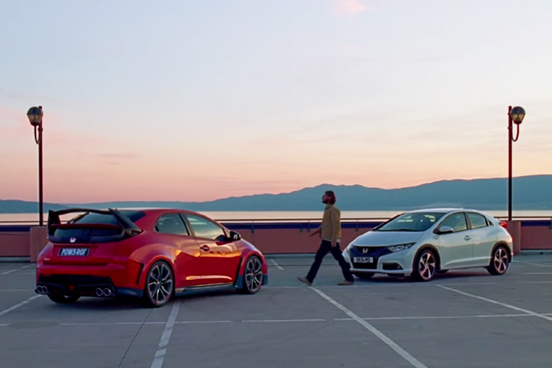 Honda's Brilliant New Two-Faced Car Commercial