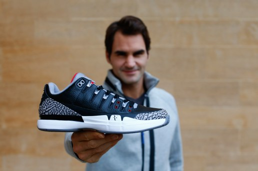 An Intersection of Greatness: Roger Federer Discusses the NikeCourt Zoom Vapor AJ3