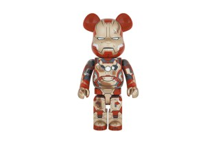 Marvel x Medicom Toy 1000% Iron Man Mark XLII Damage Version