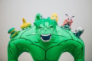 "Jeff Koons ""Hulk Elvis"" Exhibition at Gagosian Gallery Hong Kong Recap"