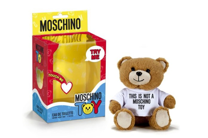 "Jeremy Scott Unveils Teddy Bear-Shaped ""Moschino Toy"" Fragrance"