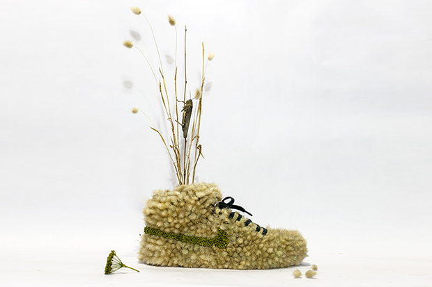 'Just Grow It': Crafting Nike Sneakers from Flowers