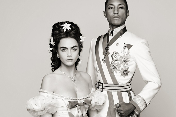 """Karl Lagerfeld Presents """"Reincarnation"""" Teaser featuring Pharrell Williams and Cara Delevingne"""