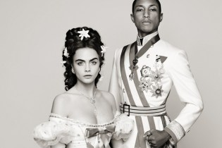 "Karl Lagerfeld Presents ""Reincarnation"" Teaser featuring Pharrell Williams and Cara Delevingne"