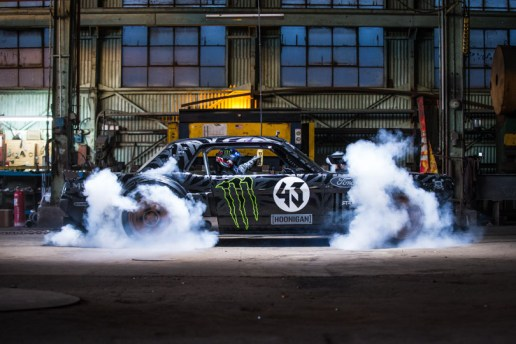 Ken Block Goes Wild in the Streets of LA in an 845-Horsepower Ford Mustang for Gymkhana 7