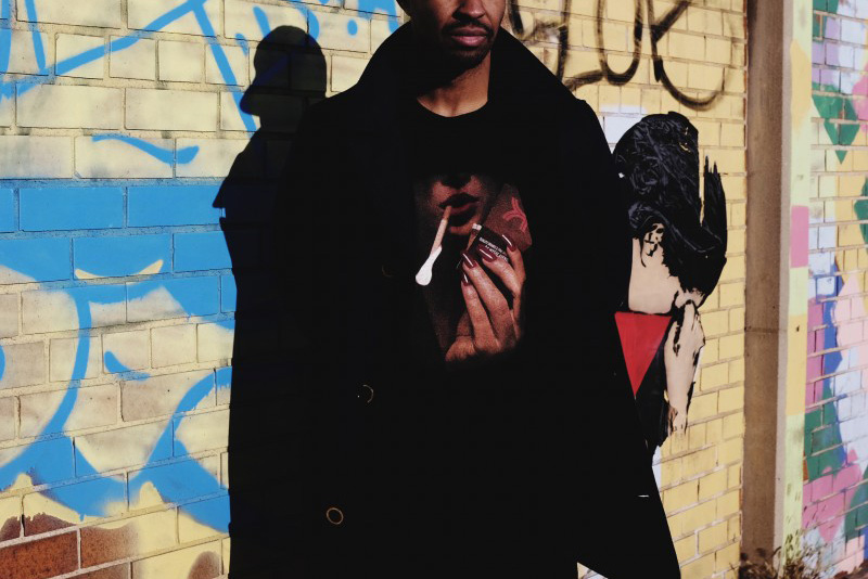 "Kinfolk 2014 Fall/Winter ""The Smoking Woman"" Tee"