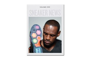 LeBron James Covers Sneaker News Volume One