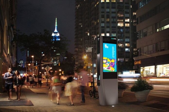 LinkNYC Project to Replace Old New York City Payphones with Free Wi-Fi Kiosks