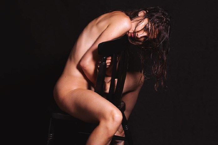 Mario Sorrenti Shoots Laetitia Casta for LUI Magazine's December 2014 Issue