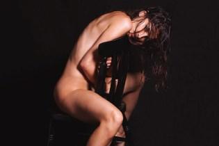 Mario Sorrenti Shoots Laetitia Casta for LUI Magazine's December 2014 Issue