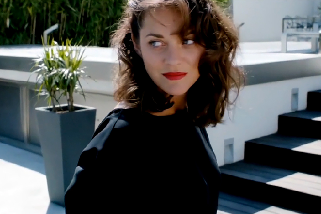 "Marion Cotillard ""Snapshot in LA"" Music Video"