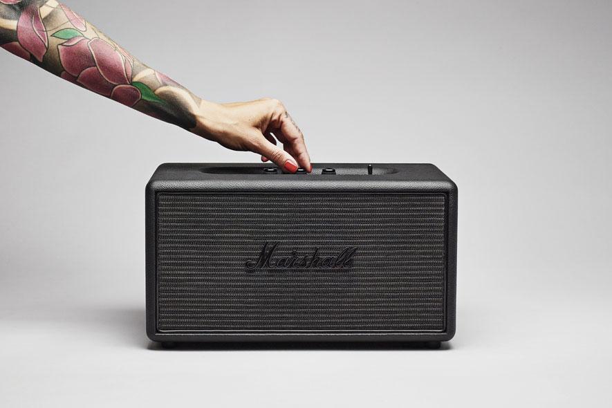 Marshall Stanmore Pitch Black Bluetooth Speaker