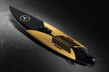 Mercedes-Benz Adds to Garrett McNamara's Innovative Surfboard Collaboration