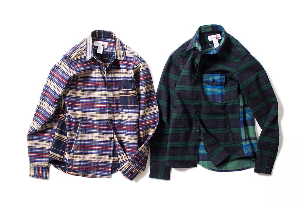 nanamica x Johnson Woolen Mills 2014 Fall/Winter Collection