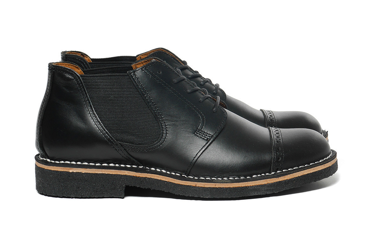 NEIGHBORHOOD 2014 Fall/Winter TC Officer-Smooth/CL Shoes