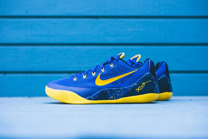 Nike Kobe 9 Gym Blue/University Gold