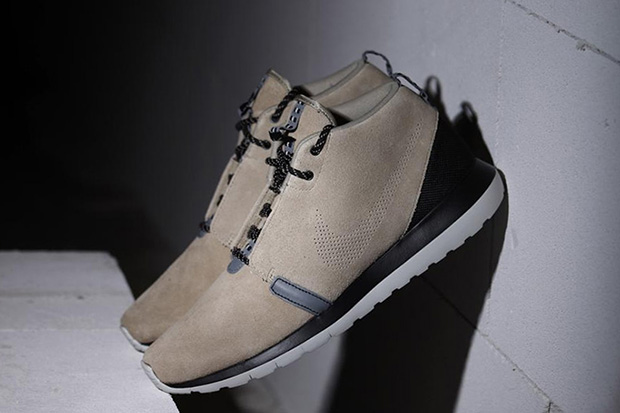 Nike Roshe Run NM Sneakerboot Bamboo