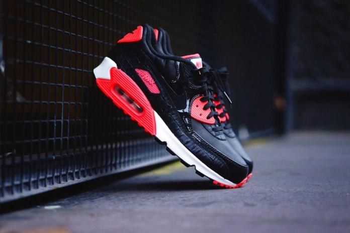 """Nike Air Max 90 """"Infrared Croc"""""""