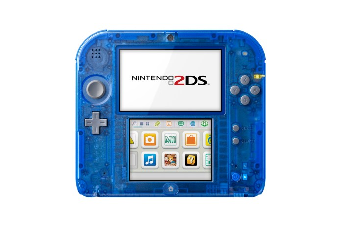 Nintendo Unveils Crystal Red and Crystal Blue 2DS Systems