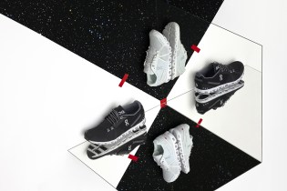 The World's Lightest Cushioned Running Shoe: On Reveals Its Holiday Edition Black & White