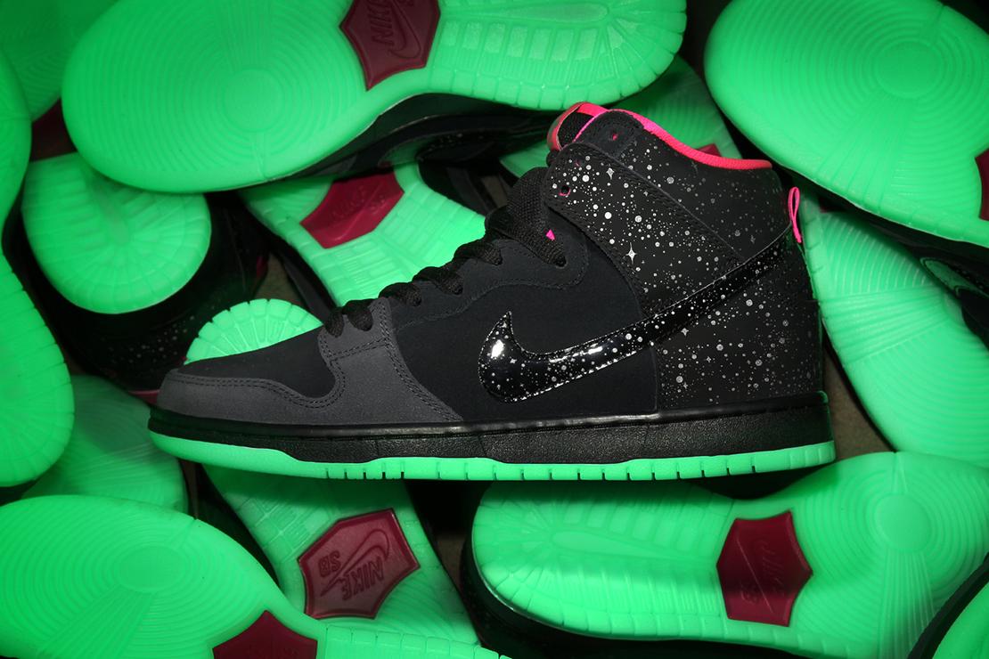 "Premier x Nike SB Dunk High Pro ""Northern Lights"""