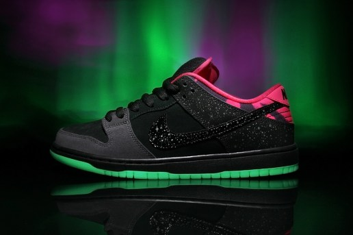 "Premier x Nike SB Dunk Low Pro ""Northern Lights"""