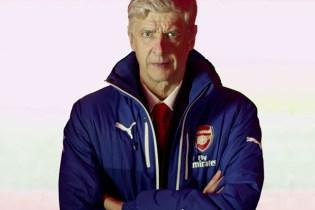 PUMA Solves Arsène Wenger's Jacket Zip Problems