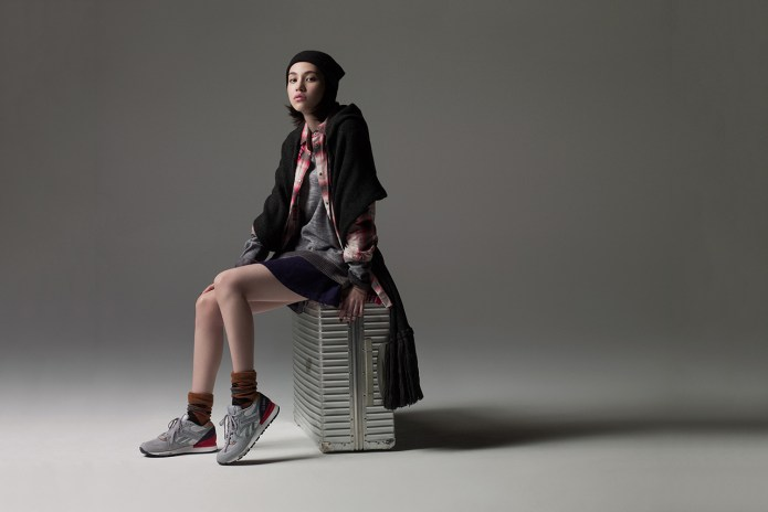 Reebok Classic 2014 Fall/Winter Collection featuring Kiko Mizuhara