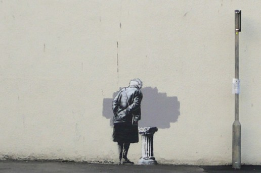"Removal of Banksy's ""Art Buff"" Mural Stirs Protests"