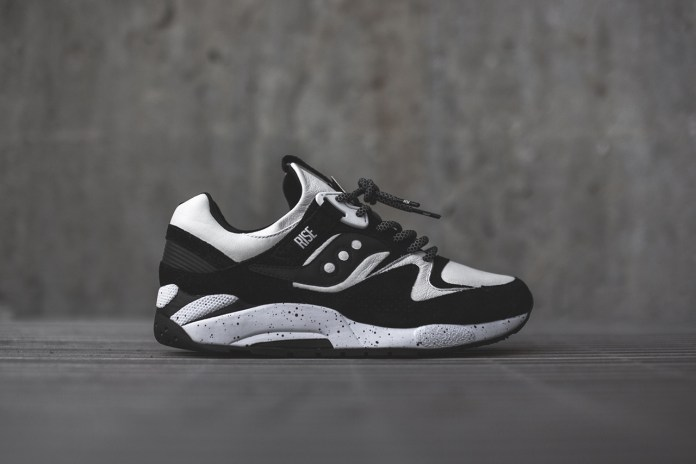"RISE x Saucony Grid 9000 ""Keys Open Doors"""