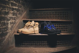 Ronnie Fieg x Caminando 2014 Fall/Winter Ripple Mountain Mid