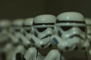 'Star Wars: The Force Awakens' Trailer Gets Remade in LEGO