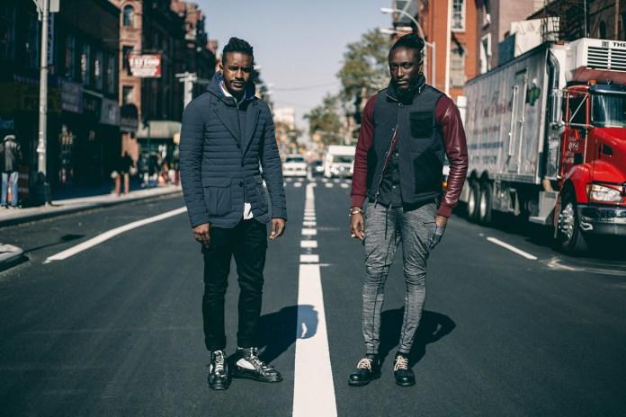 Streetsnaps: Joshua Kissi & Travis Gumbs Present the Armani Exchange Black Edition Capsule Collection