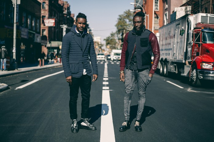 Streetsnaps: Joshua Kissi & Travis Gumbs Present the Armani Exchange Black Edition Capsule Collection