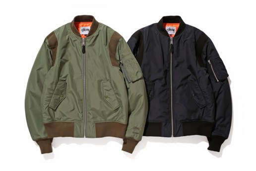 Stussy 2014 Fall/Winter WINDSTOPPER MA-1