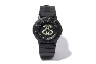 Stussy × Luminox Navy Seal 3000