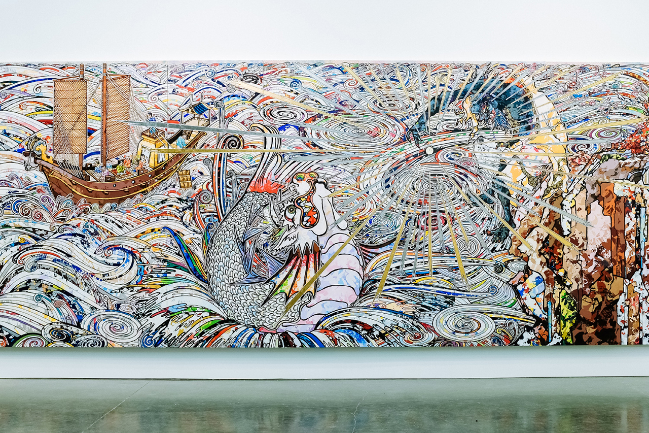 Takashi Murakami In The Land Of The Dead Stepping On The