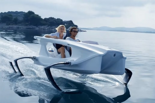 The First Environmentally Friendly Personal Watercraft