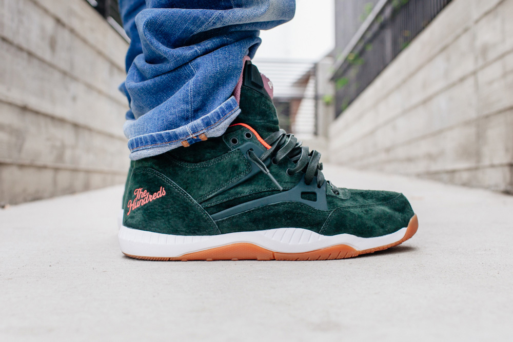 """The Hundreds x Reebok Pump AXT """"Coldwaters"""" Pack"""