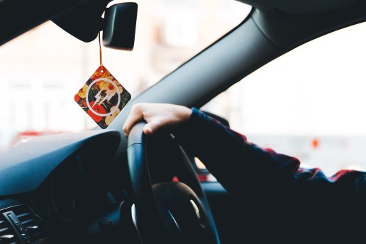 the POOL aoyama x fragment design x retaW 2014 Fragrance Car Tag