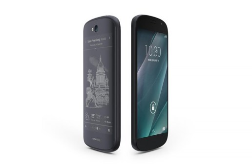 The YotaPhone 2 is Half-LCD, Half-Power Saving e-Ink Display