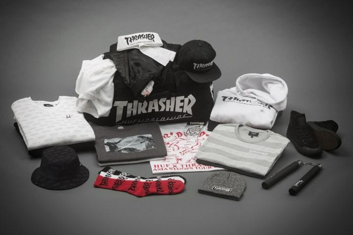 Thrasher x HUF Stoops Asia Tour Collection