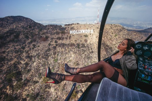 Van Styles Shoots Tianna Gregory While Flying In a Helicopter