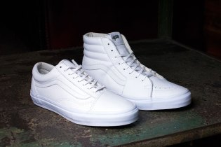 Vault by Vans Releases All-White Old Skool and Sk8-Hi LX