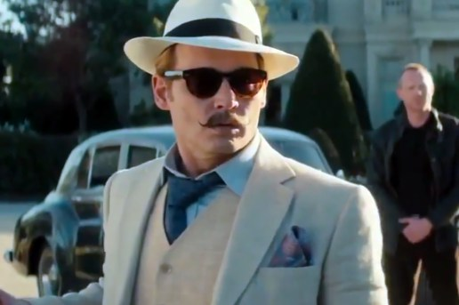 Watch the Trailer for Action Comedy Film Mortdecai featuring Johnny Depp