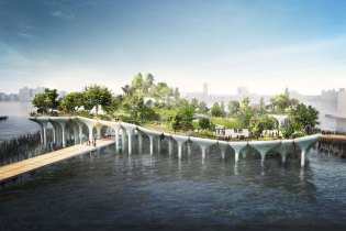 $170 Million USD Floating Island Planned for Hudson River