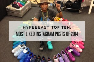 HYPEBEAST Top Ten: Most Liked Instagram Posts of 2014