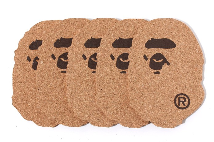 A Bathing Ape 2014 Holiday APE CORK COASTER