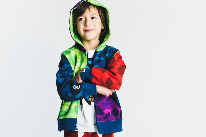 A Bathing Ape 2015 Spring/Summer Kids Lookbook